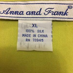 Anna & Frank Tops - EUC ANNA & FRANK Awesome 100% Silk Top